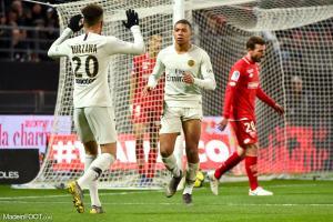 Les compos officielles du match entre le Dijon FCO et le Paris Saint-Germain.