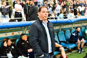 Stéphane Moulin, entraineur du SCO d'Angers