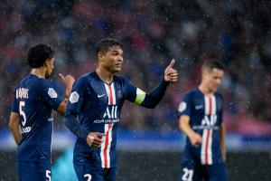 Thiago Silva, le défenseur central et capitaine du Paris Saint-Germain.