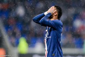 Neymar, l'attaquant du Paris Saint-Germain et du Brésil.