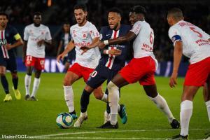 L'album photo du match entre le Paris Saint-Germain et le Stade de Reims.