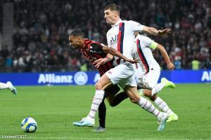 L'album photo du match entre l'OGC Nice et le Paris Saint-Germain.