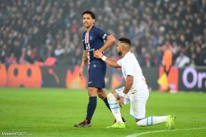 Marquinhos félicite Neymar