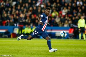 Idrissa Gueye, le milieu de terrain du Paris Saint-Germain.