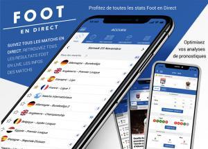 Venez tester la nouvelle application Foot en DIRECT