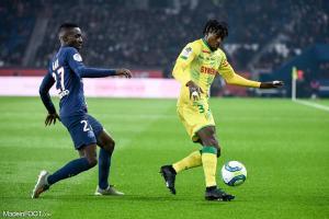 Kader Bamba (Nantes) et Gueye (PSG)