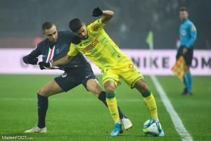 L'album photo du match entre le Paris Saint-Germain et le FC Nantes.