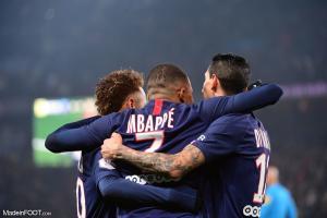 Mbappé, Neymar, Di Maria (PSG)