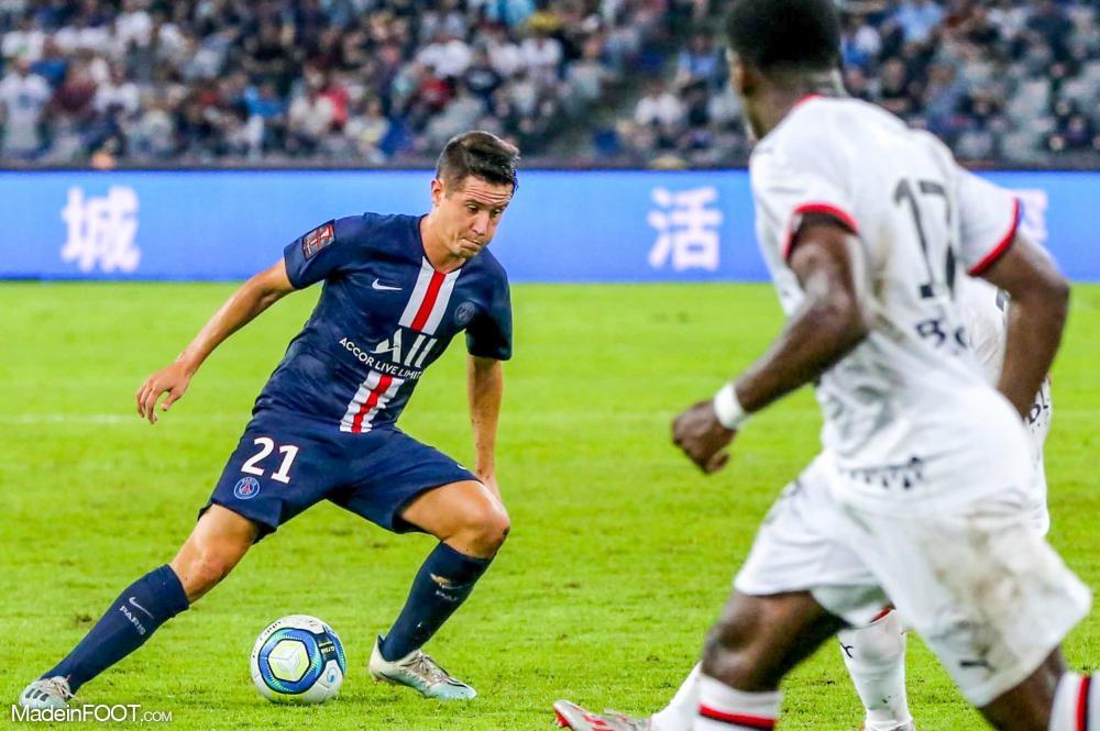 Ander Herrera, le milieu de terrain du Paris Saint-Germain.