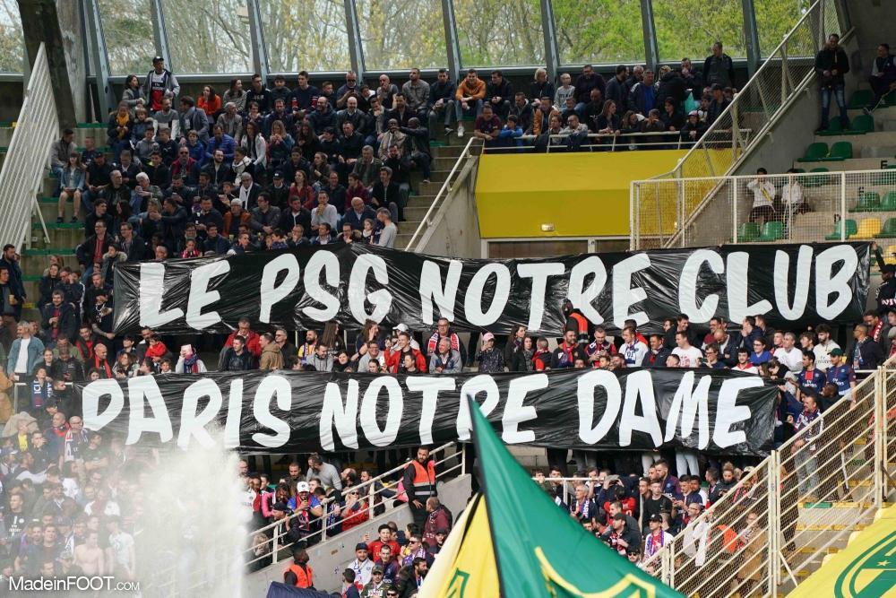 Les fans parisiens motivent leurs joueurs