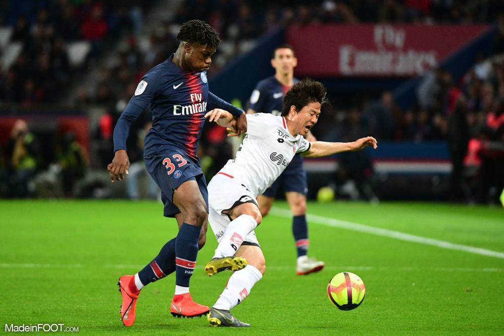 Loïc Mbe Soh est sous contrat au Paris Saint-Germain jusqu'au 30 juin 2021.