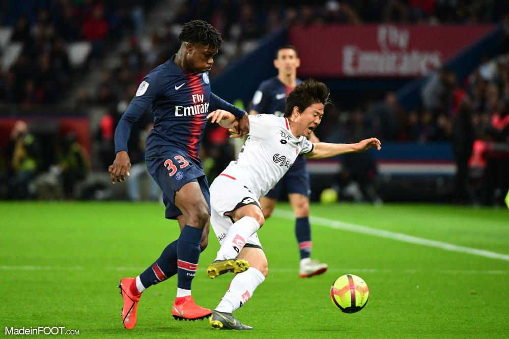 Loïc Mbe Soh a joué son 2e match en L1 contre Dijon.