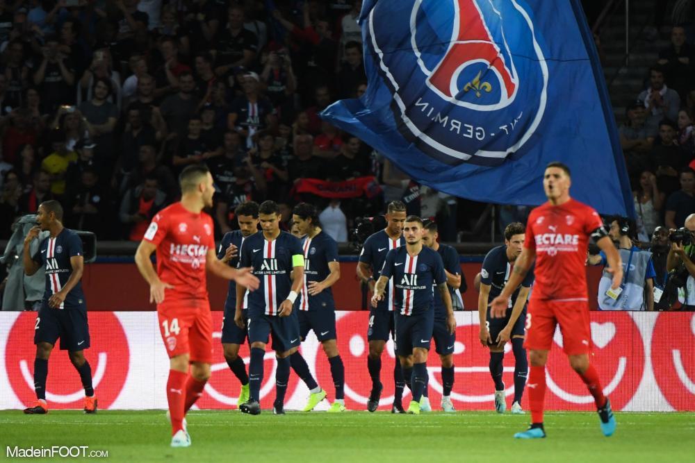 Le Paris SG a réussi sa rentrée face à Nîmes.