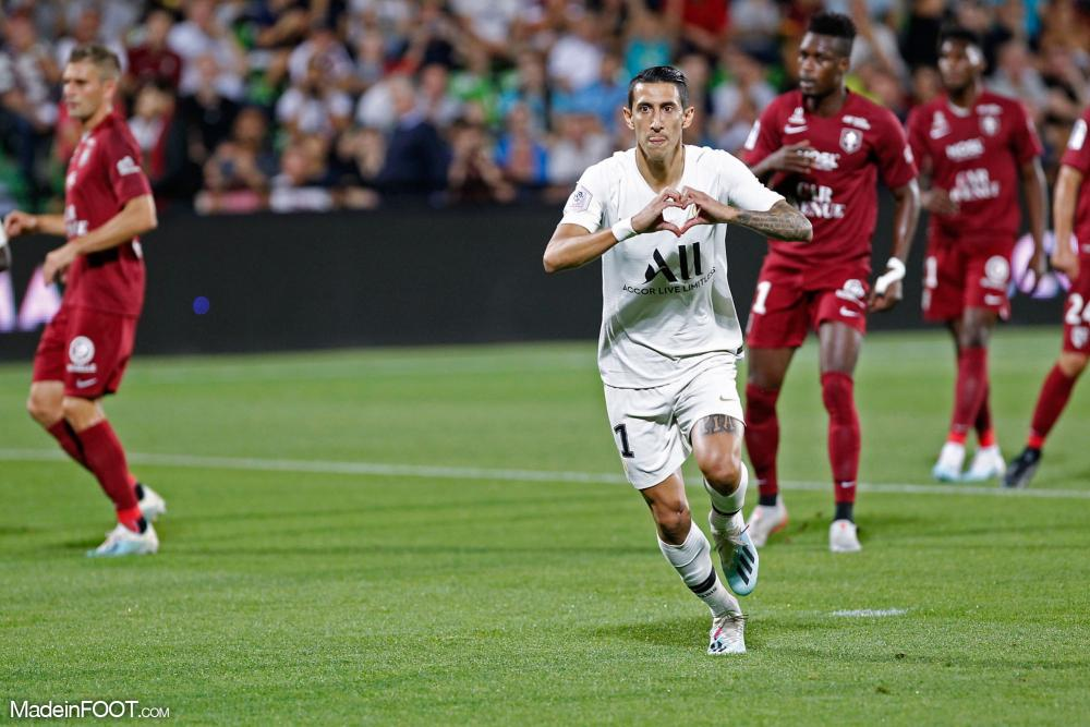 Le PSG a dominé Metz (0-2).
