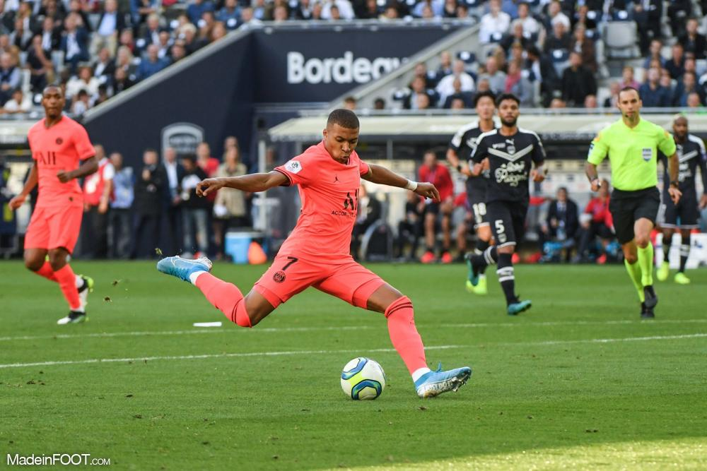 Mbappé a dynamisé l'attaque parisienne.