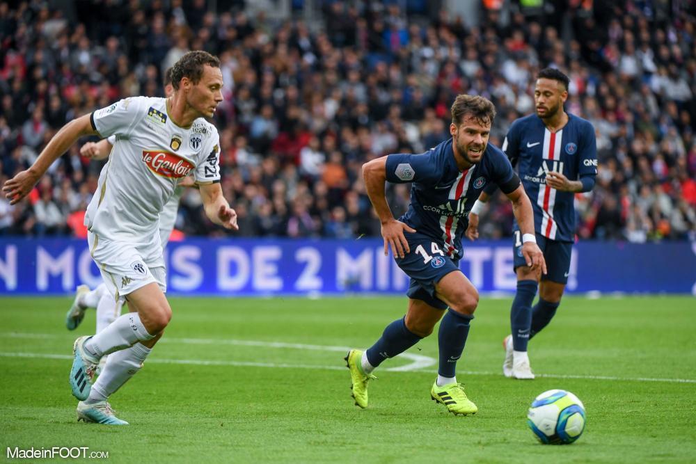 Juan Bernat, le défenseur latéral gauche du Paris Saint-Germain.