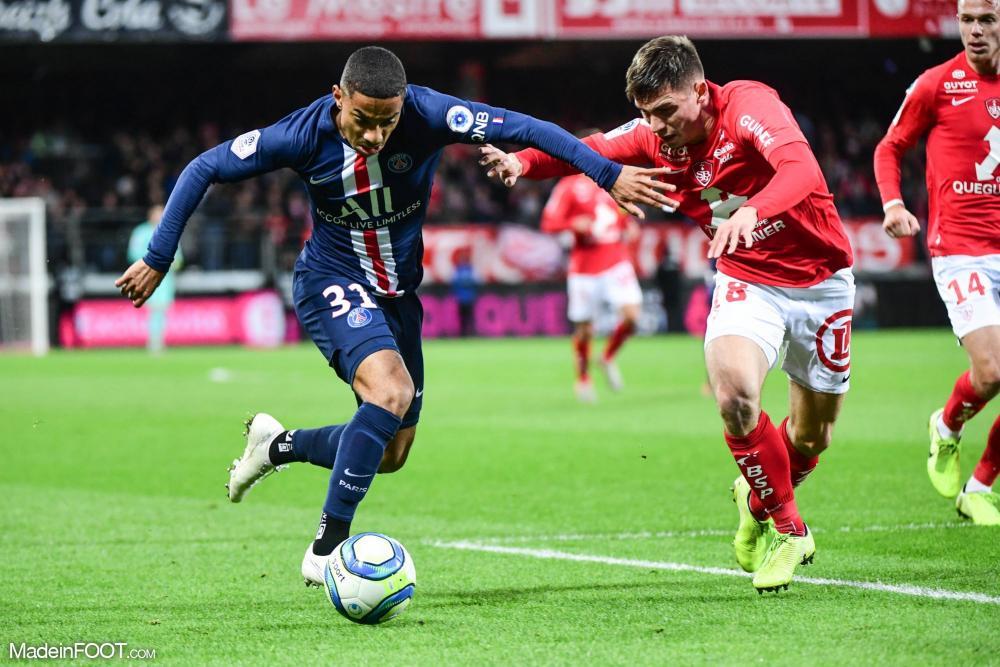 Le Paris Saint-Germain s'est imposé sur la pelouse du Stade Brestois 29 (1-2), ce samedi après-midi en Ligue 1.