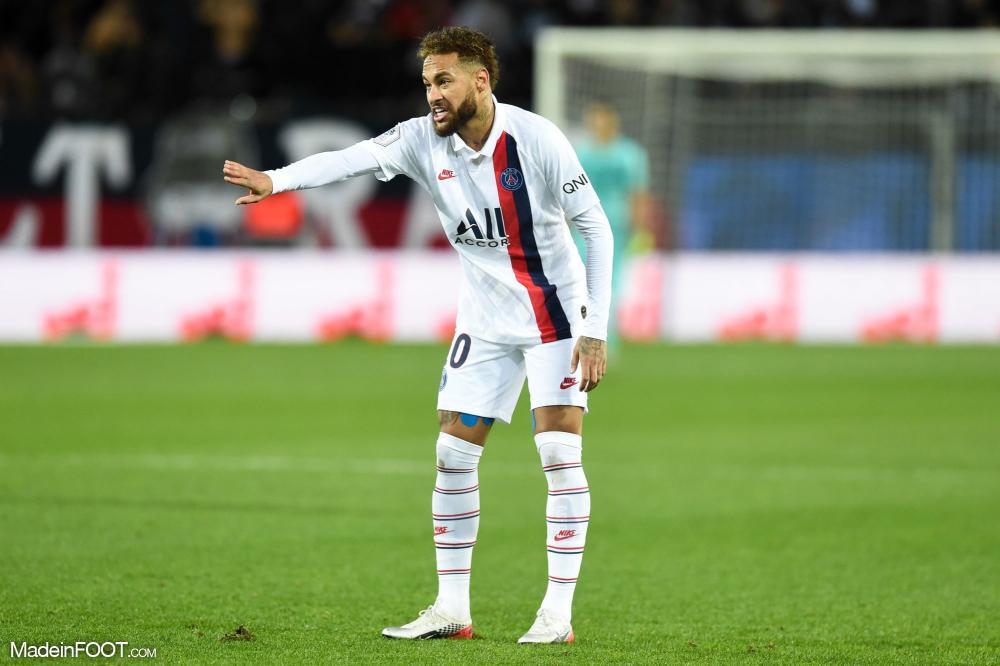 Neymar, un match contrasté à Montpellier