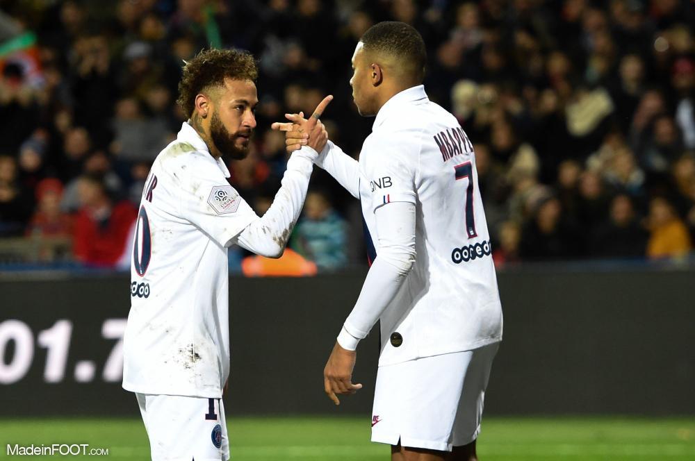 Les compos officielles du match entre le Paris Saint-Germain et le Montpellier Hérault Sport Club.