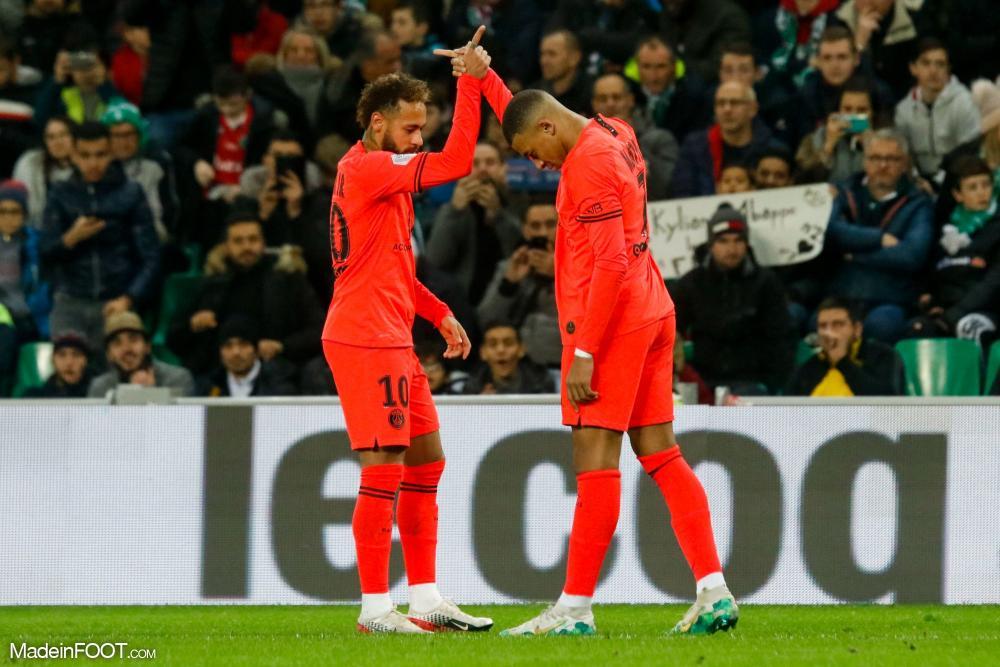 La grande complicité entre Neymar et Kylian Mbappé