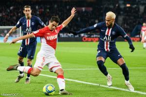 L'affiche entre le Paris Saint-Germain et l'AS Monaco a été très suivie.