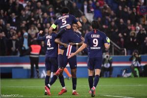 Cavani et Marquinhos sous le maillot parisien