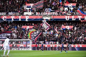 Le Collectif Ultras Paris au Parc des Princes