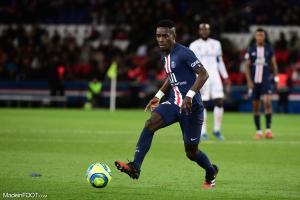 Idrissa Gueye, le milieu de terrain défensif du Paris Saint-Germain.