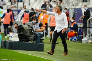Christian Gourcuff s'exprime sur la défaite face au PSG