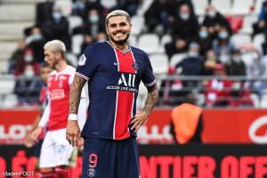 Mauro Icardi, l'attaquant du Paris Saint-Germain.