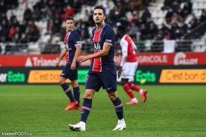 Pablo Sarabia, le milieu de terrain offensif du Paris Saint-Germain.