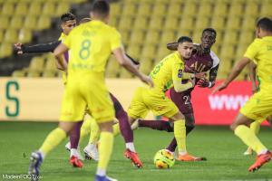 L'album photo du match entre le FC Nantes et le Paris Saint-Germain.