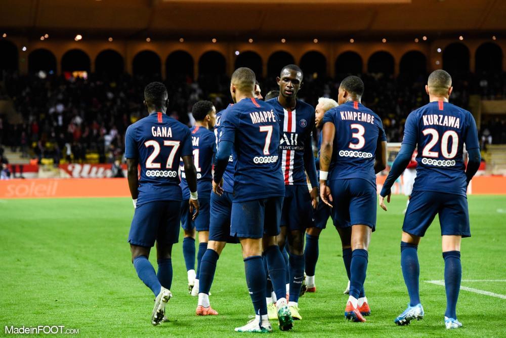 Les compos officielles du match entre l'AS Monaco et le Paris Saint-Germain.