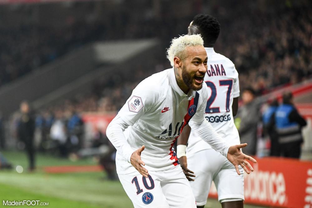 Le PSG s'impose grâce à Neymar