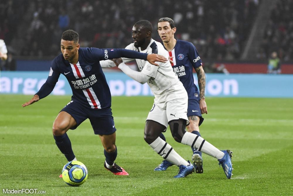 Thilo Kehrer, le défenseur polyvalent du Paris Saint-Germain.