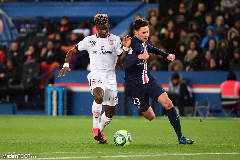 Julian Draxler, le milieu de terrain du Paris Saint-Germain.