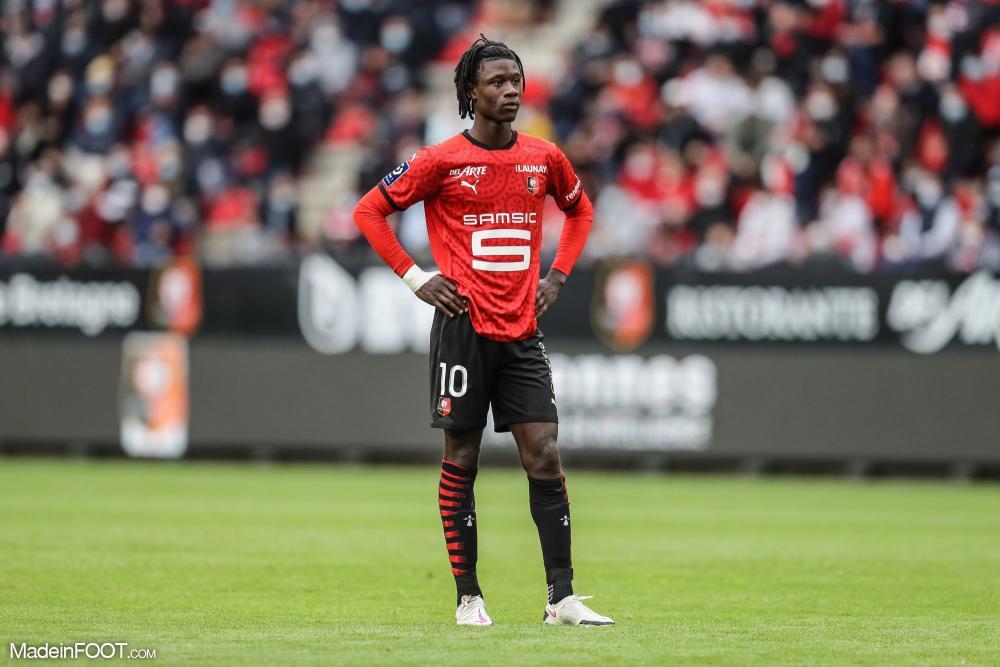Eduardo Camavinga, le milieu de terrain du Stade Rennais FC.