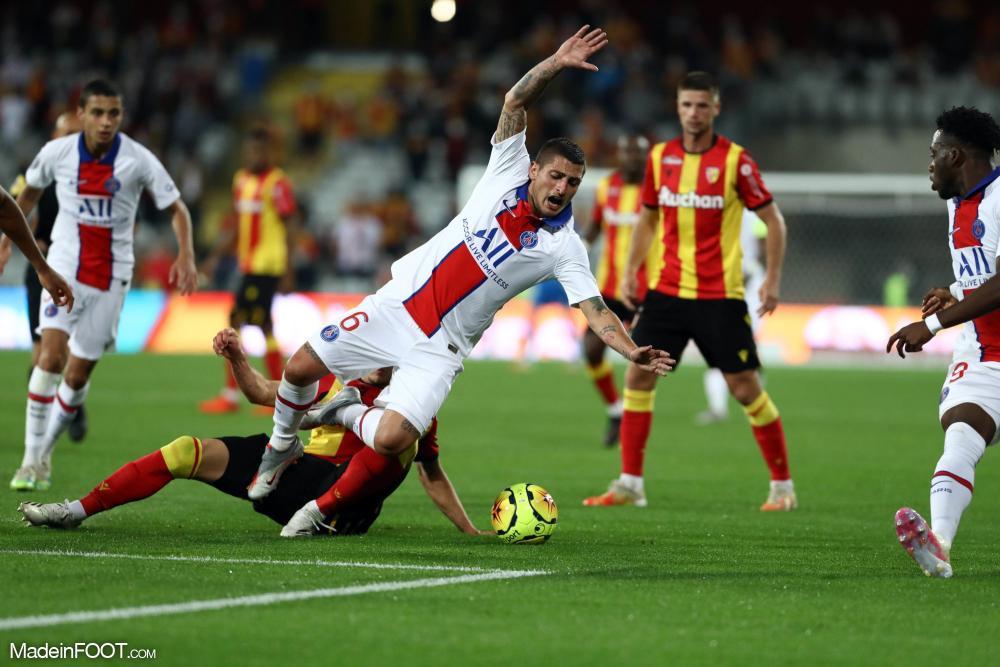 Le Racing club de Lens s'est imposé 1-0 face à l'équipe bis du PSG