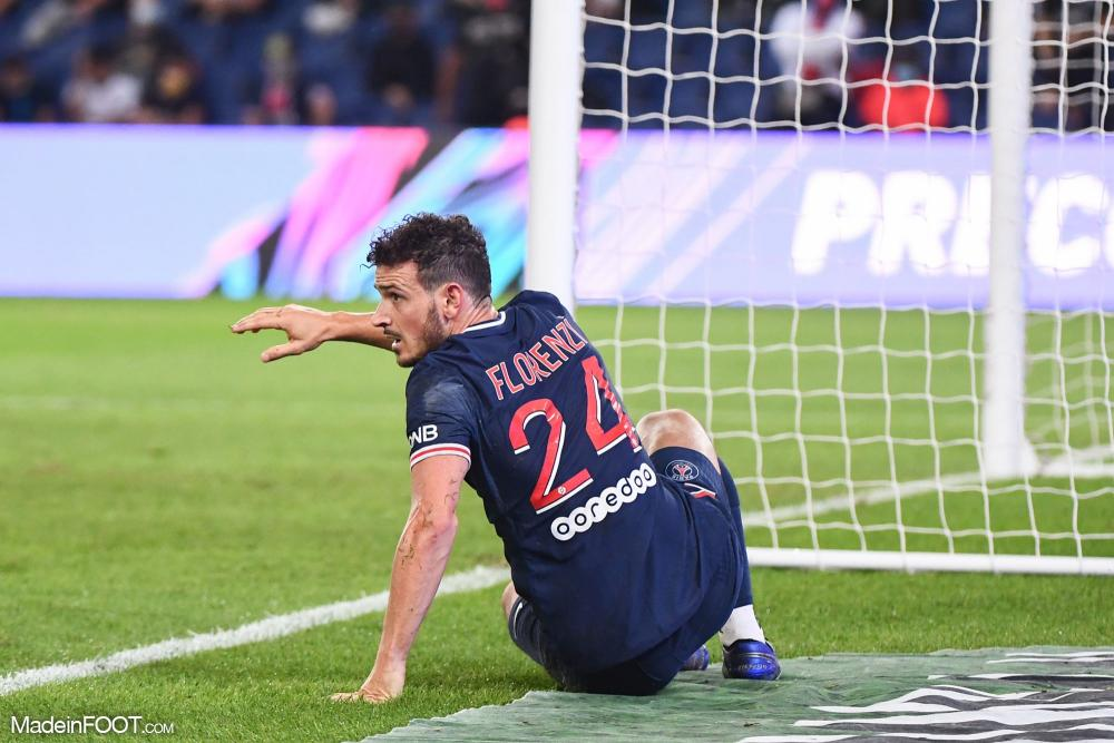 Alessandro Florenzi, le défenseur latéral droit du Paris Saint-Germain.