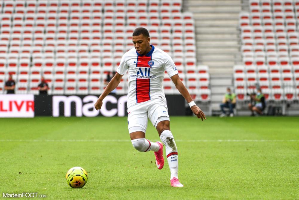 Kylian Mbappé, attaquant du Paris Saint-Germain