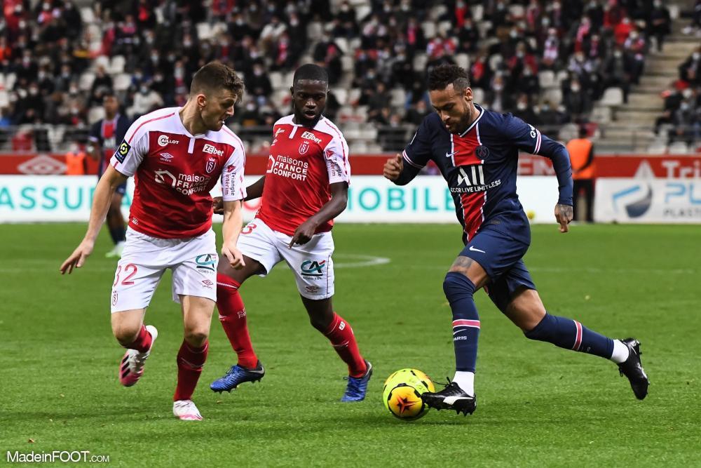 Le PSG s'est imposé à Reims