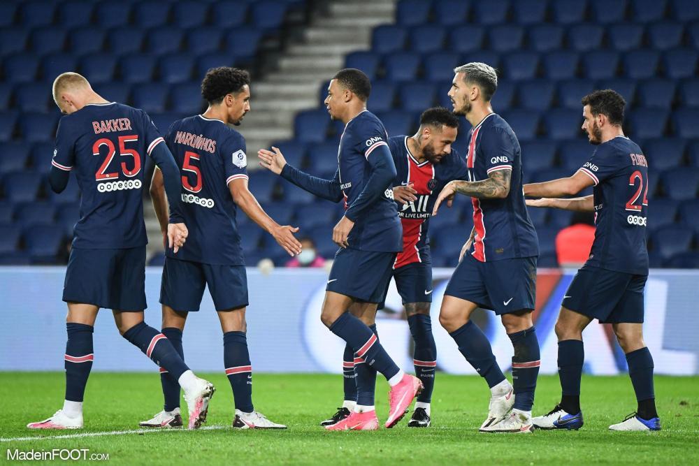 Neymar a marqué son premier but de la saison