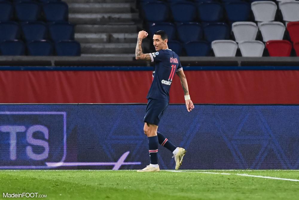 Cette saison, Angel Di Maria comptabilise 5 buts et 11 passes décisives sous les couleurs parisiennes