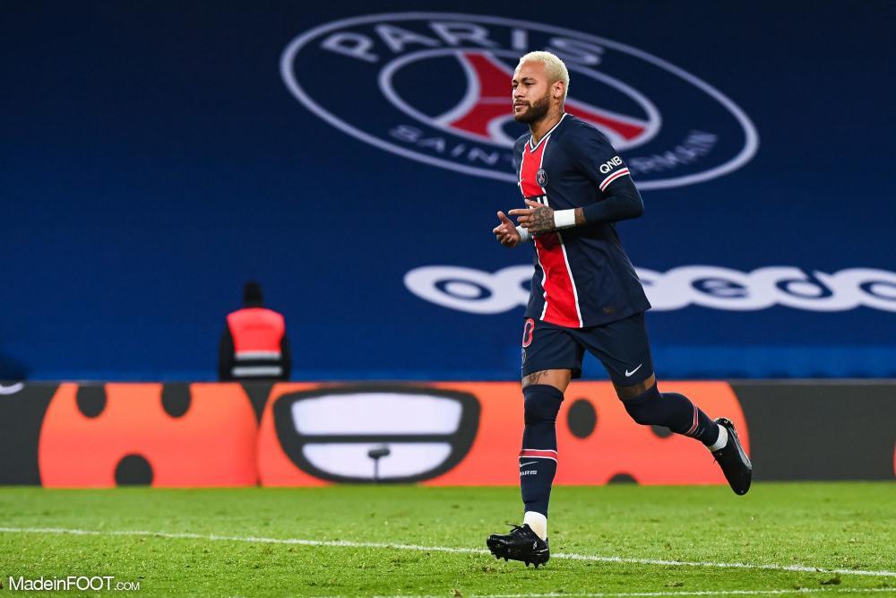 Neymar, l'attaquant du Paris Saint-Germain.