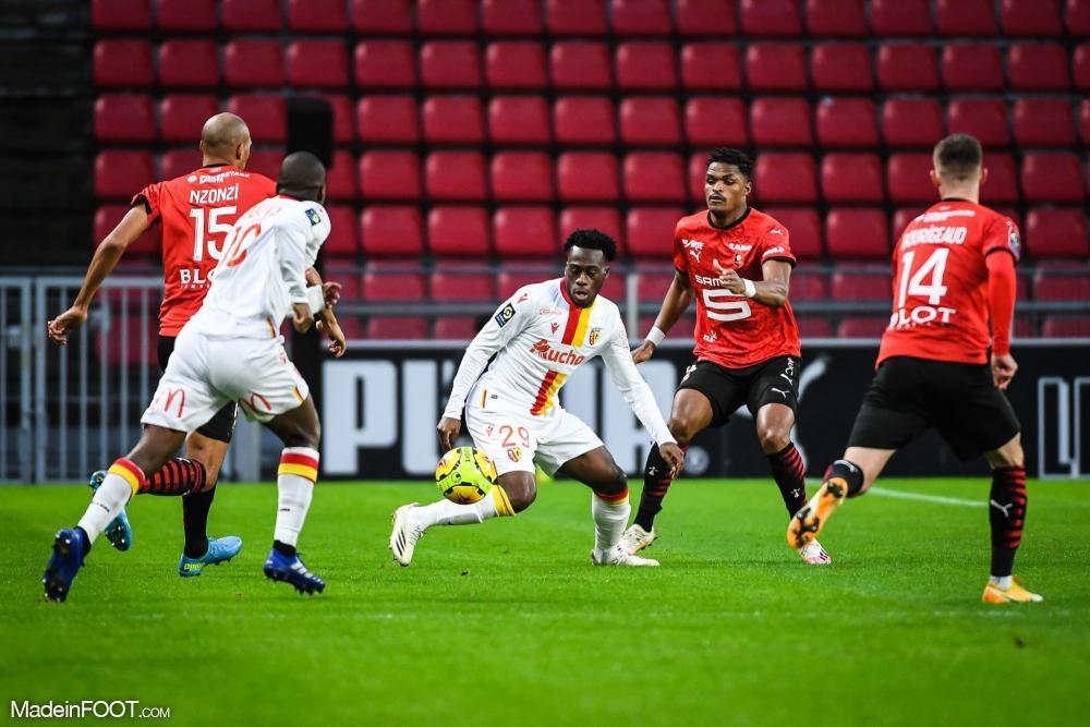Arnaud Kalimuendo, ici sous les couleurs du RC Lens.