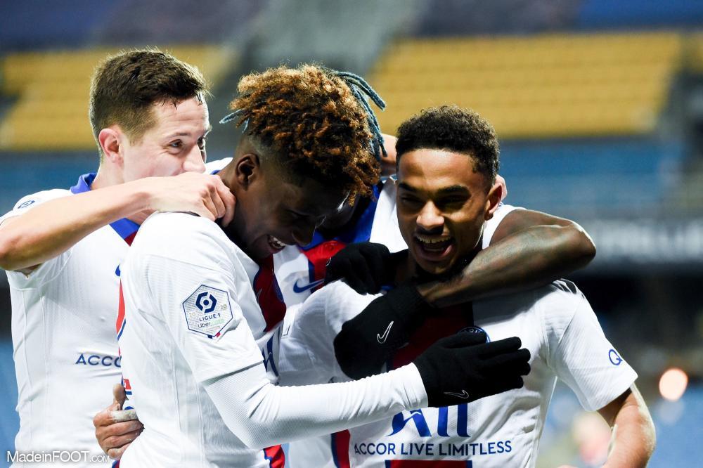 Le PSG s'impose à Montpellier avec un but de Dagba