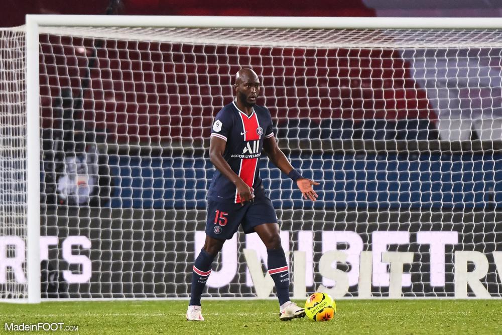 Danilo, milieu de terrain du PSG