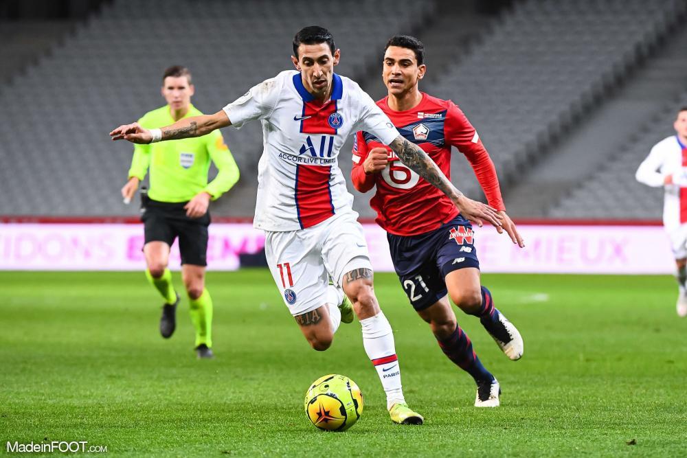 Lille et le PSG partagent les points