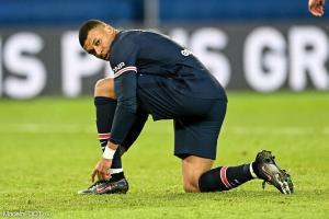 Kylian Mbappé sous les couleurs du PSG