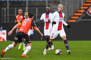 Leandro Paredes est suspendu pour le match de Ligue 1 face à Saint-Etienne ce week-end